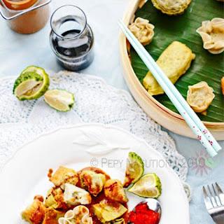 Siomay Bandung Recipe (Bandung Steamed Dumplings with Peanut Sambal)