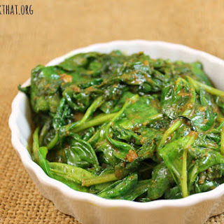 Steamed Spinach No Oil Recipes