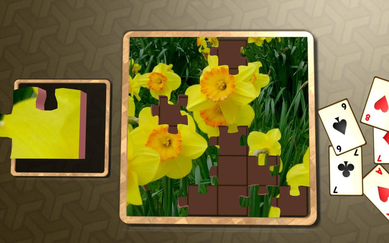 Jigsaw Solitaire - Plants- screenshot