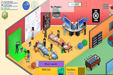 Game Dev Manager Tycoon 1.0 (Paid)