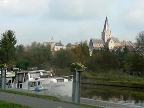 Photo: Arrivée sur Geraardsbergem (Autrefois Grammont !)