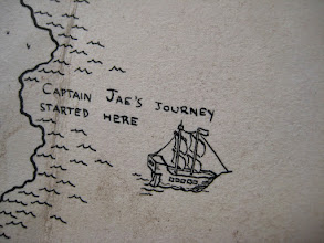 Photo: Here's a close-up view of Captain Jae's ship.