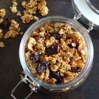 Quinoa Cherry Granola