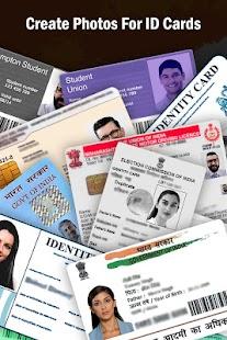 Indian Passport Size Photo Visa Pan OCI Aadhaar DL - náhled