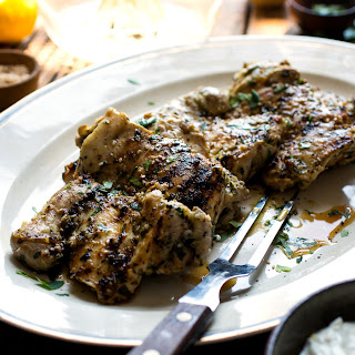 Middle Eastern Herb and Garlic Chicken