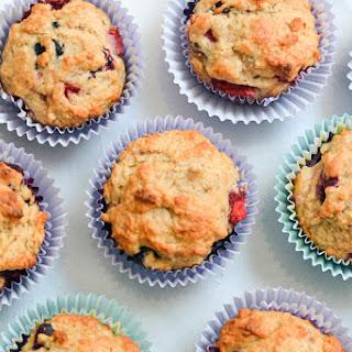 Banana Berry Muffins Recipe