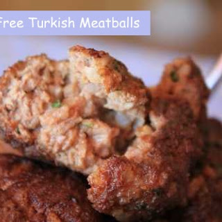 Gluten Free Turkish Meatballs