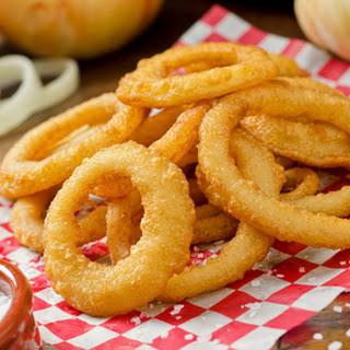 Homemade Onion Rings.