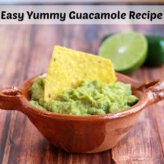 Easy Yummy Guacamole