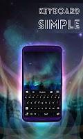 Screenshot of Simple Keyboard Black