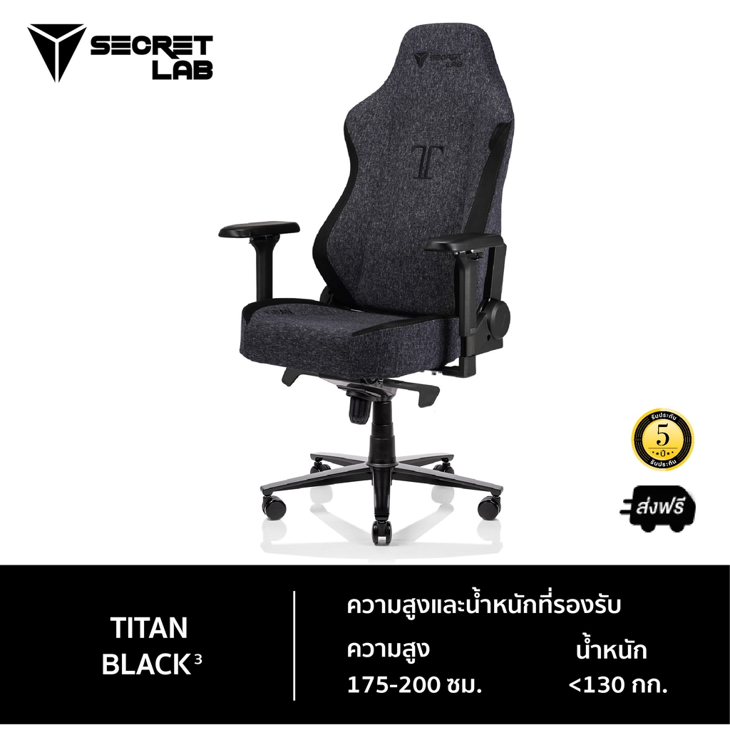 เก้าอี้เกมเมอร์แห่งปี Secretlab TITAN 2020 03
