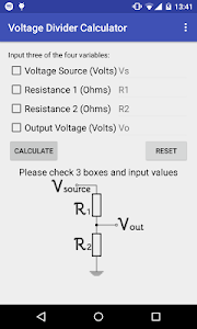 Easy Voltage Divider Calculate screenshot 0