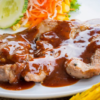 Slow Cooker Barbecue-Style Pork Steaks.