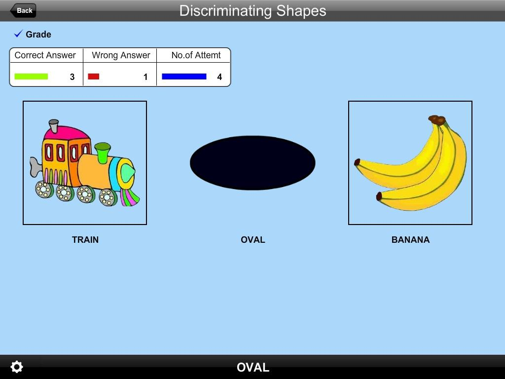 Discriminating Shapes Lite- screenshot