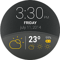 Screenshot of Weather Watch Face