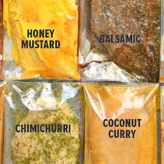 Marinade Recipes (each marinade is for 2 chicken breasts).