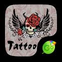 Tattoo Go Keyboard theme icon