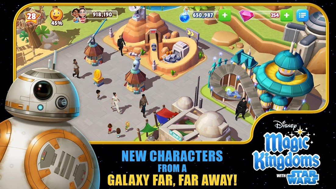 Disney Magic Kingdoms: Build Your Own Magical Park Android App Screenshot