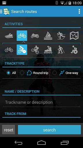 GPSies screenshot 3