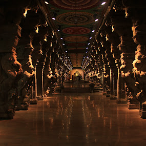 1000 Pillars Hall by Karthic Kumar - Buildings & Architecture Places of Worship ( temple, architechture, historical )