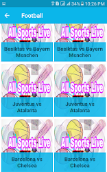 Scarica All Sports LIve TV Free Streming Android App APK 1 0