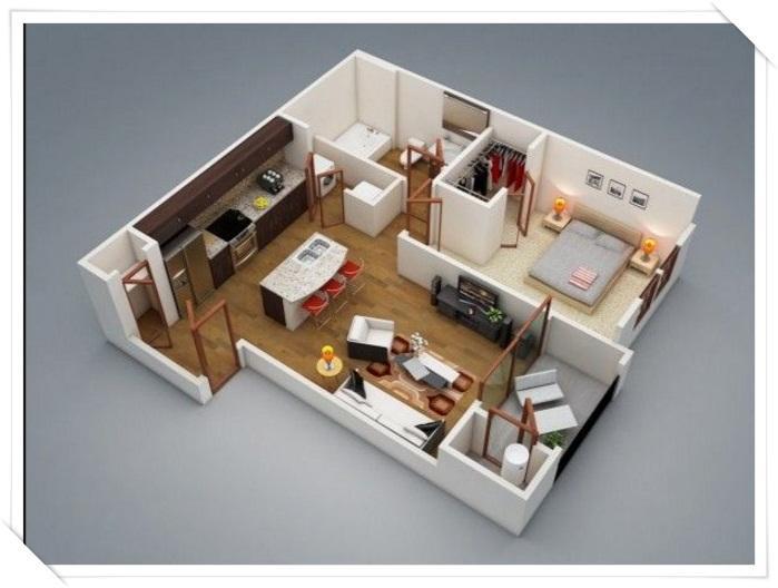 House Layout 3d small house layout design - izinhlelo ze-android ku-google play