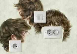 Photo: interupteur, prise simple et double prise de courant 2
