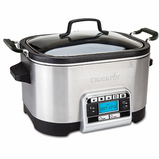 Crock-Pot 5,6 L Slowcooker - Multifunktionell med ugnsfunktion