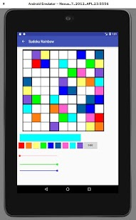 Sudoku Rainbow Screenshot