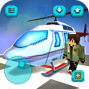Helicopter Craft: Flying & Crafting Game 2017