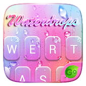 Waterdrops GO Keyboard Theme Icon