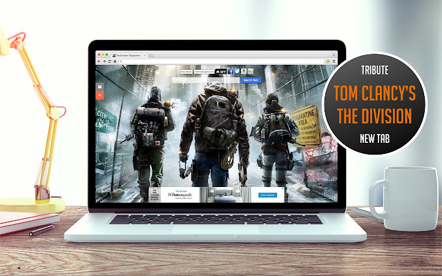 The Division Tribute New Tab