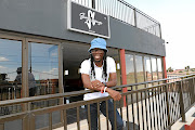 Reneilwe Letsholonyane at ShaYe Lounge that he and former teammate Siphiwe Tshabalala established  in Dobsonville, Soweto.