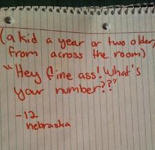 Photo: 4.12.15 #WhatMySHSaid entry from Nebraska