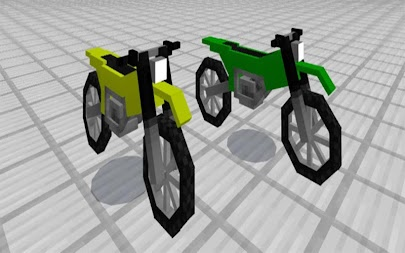 Motobike Mod for MCPE Addon APK screenshot thumbnail 4
