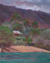 """Photo: """"View from the Big Rock"""" Wailea Bay (69's) 8"""" x 10"""" (available from artist)"""