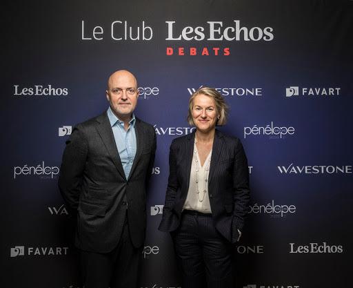 Club Les Echos Débats avec Anne Rigail - Pierre Louette