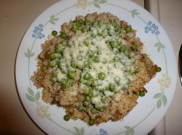 Nutmeg Rice Recipe