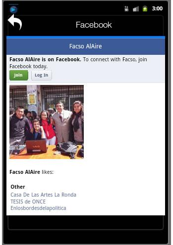 Radio facso hd online android apps on google play for Muebles de oficina quito av america