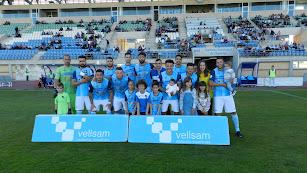 Alineación inicial presentada por parte del CD El Ejido ante el Marbella.