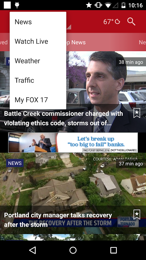 FOX 17- screenshot