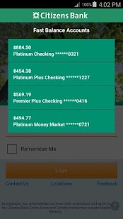 Citizens Bank Mobile Banking Screenshot 8