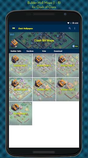 Clash Wallpapers HD & Maps screenshot