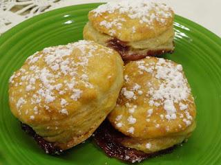 White Chocolate And Raspberry Baked Doughnuts Recipe