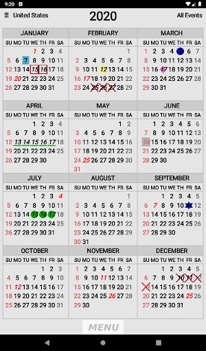 Wallet Calendar screenshots 12