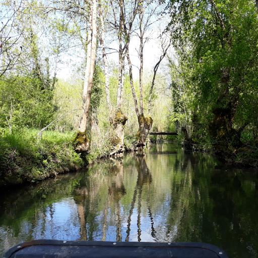Gite Le Nid à Surgères en Aunis Marais poitevin près de La Rochelle balades en barque sur les canaux