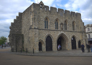 Photo: The Southampton City Gate from the inside