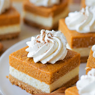 Pumpkin Dessert Bars Recipes