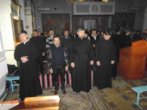 Photo: Дьякона и пономари молятся о прощении своих тяжких согрешений