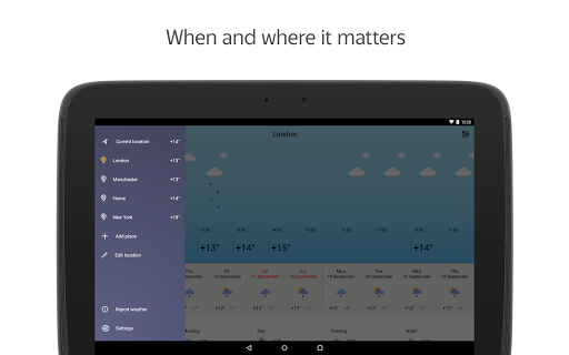 Yandex.Weather screenshot 10
